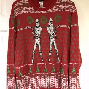 Star Wars Stormtrooper Ugly Christmas Sweater XXL